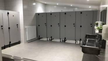 Vernieuwd sanitairblok
